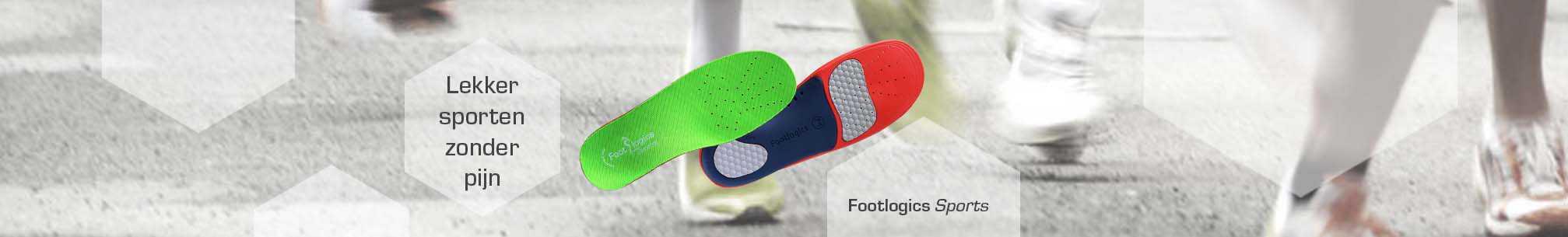 Footlogics Sports inlegzolen voor hardlopen